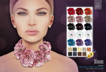 :: PM :: Bloom Fashion Necklace -all colors- 50% OFF