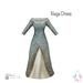 ity.  china naga dress teal