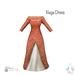 ity.  china naga dress red