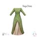 ity.  china naga dress green