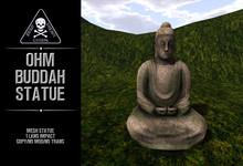{zfg} home ohm buddah statue