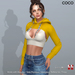 *COCO*_UltraCroppedHoodie_Yellow