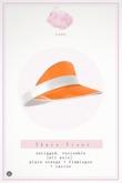 Swan Thais Visor Cap Orange