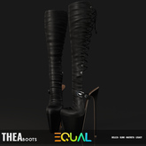 EQUAL - Thea Boots BLACK