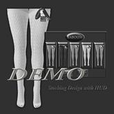 Baboom*DEMO-Stockings Design-HUD-Hourglass-Maitreya