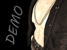 [DeepElements] DEMO - Chunky Silver Chain