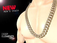 [DeepElements] - Chunky Silver Chain