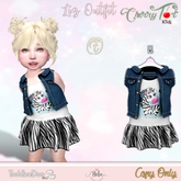 *Cherry Tot* TD/BEBE FItted Liz Outfit E (Wear&Click)
