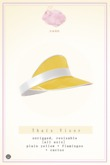 Swan Thais Visor Cap Yellow