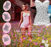 Lun'Atic LoLa Dress MT flower Grey