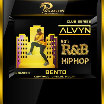 Alvyn 90's R&B Hip Hop Bento Dance