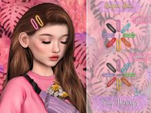 .SugarBun. Snap Hairclips - SPOTTED SET