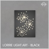 Sequel - Lorrie Light Art - Black