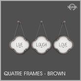 Sequel - Quatre Frames - Brown