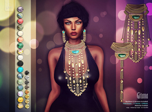 :: PM :: Gitana Necklace -all- 50% OFF