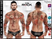 [ HUD ] Male Tattoo Applier - No Pain No Gain ( Full Body )