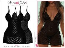 *Mon Cheri* Miranda Dress - Black
