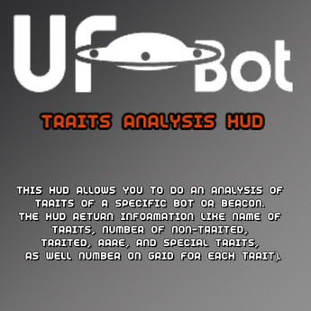 UFOBots Traits Analysis HUD