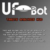 UFOBots Traits Analysis HUD