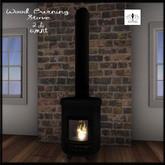 The Jewel Garden - Wood Burning Stove (Black)