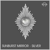 Sequel - Sunburst Mirror - Silver