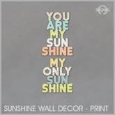 Sequel - Sunshine Wall Decor - Print