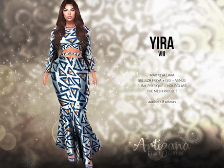 Artizana - Yira VIII - Mesh Gown