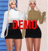 SK. Turtle Neck Skirt Set [DEMO] BBL, HG, 9S JESSICA, LARA, EBODY CURVY ::Kloss::
