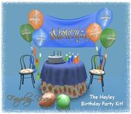 ~The Hayley Birthday Party Kit~