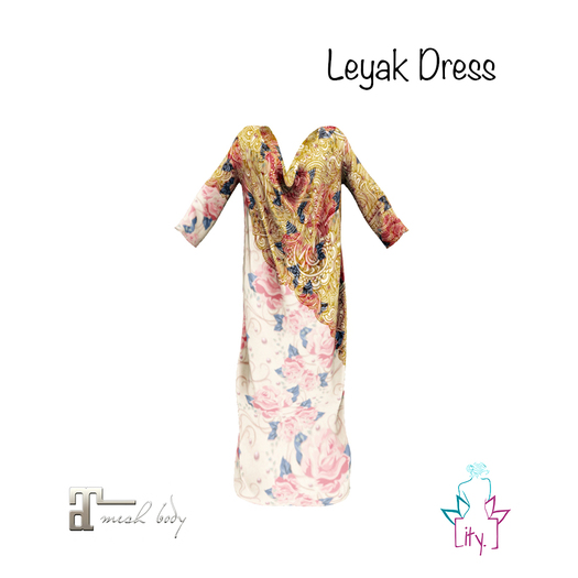 [ity.] China // Leyak Dress Rose