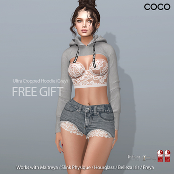 *COCO*_Gift_UltraCroppedHoodie_Grey