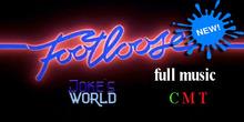 "[Joke's World] Music ""Footloose""Kenny Loggins full music (box)"