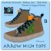 Blackburns for Men Arrow High Tops 3Fit 1Resize