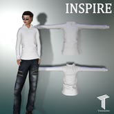 INSPIRE Boys Star Sweater White [Tweenster]