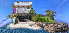DiMi's - Tropical Island SkyBox 32x32 (215 LI)