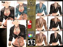 V-Twins Biker Clothes - Individual Items Mesh Shirt - Sharp Collection (Slink Belleza & Maitreya)