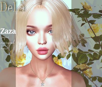 """=DeLa*= Mesh Hair """"Zaza"""" Demo"""