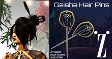 [inZoxi] - Geisha Hairpins