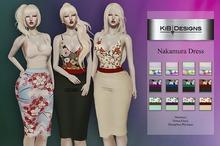 KiB Designs - Nakamura Dress DEMO