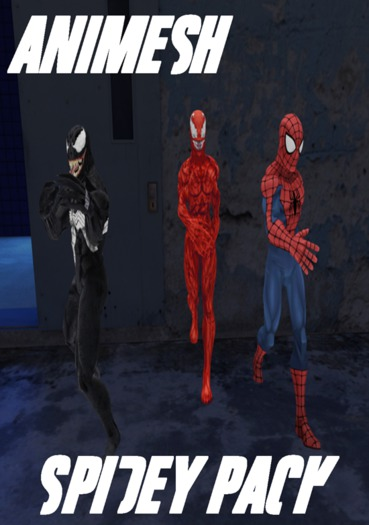 Spidey pack boxed