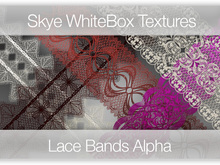 Lace Bands - Skye WhiteBox Textures Full perms Alpha