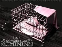 CryBunBun - Babygirl Cage [Pink]