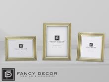 Fancy Decor: Colleen Frames (gold)