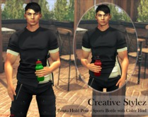 Creative Stylez - Bento Hold Pose - Sports Bottle -