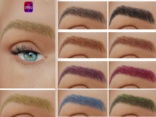 .Boombastic.Omega  10 Colours Eyebrows + Tintable Version