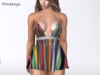 ~PP~ Confetti Striped Babydoll Dress- Attach To Unpack