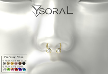 ~~ Ysoral ~~  .:Luxe Piercing Nose Loan:.