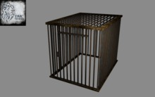 Cage 001 Full Perm Mesh
