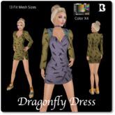 Blackburns Dragonfly Dress 13 Sizes Colorable