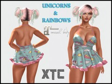 XTC Unicorns & Rainbows Dress Maitreya